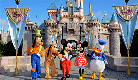 Disneyland® at California